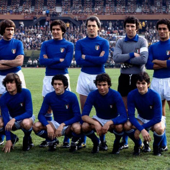 Italia 1978 Maglia Storica Calcio