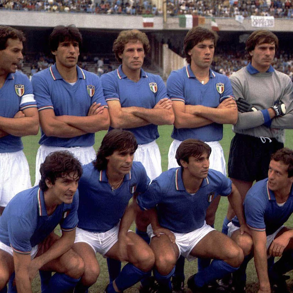 Italia 1983 Maglia Storica Calcio
