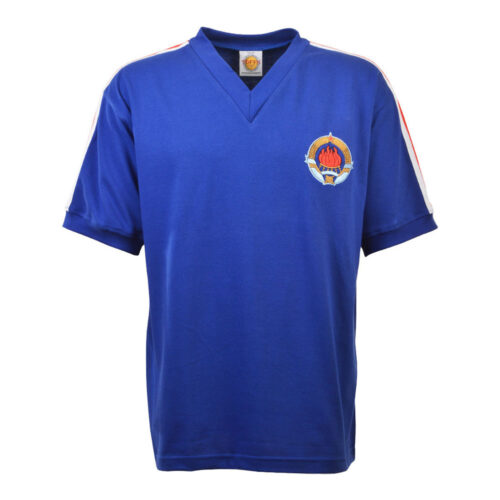 Yougoslavie 1974 Maillot Rétro Foot