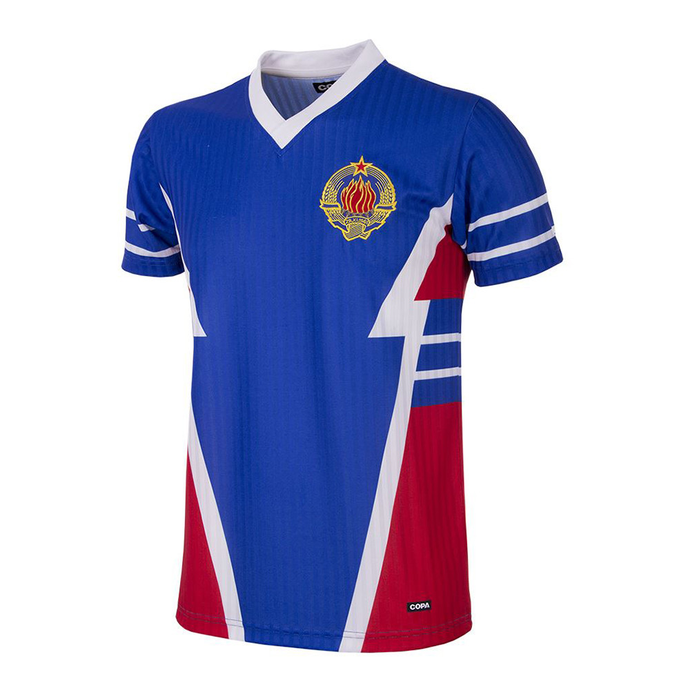 Yougoslavie 1990 Maillot Rétro Foot