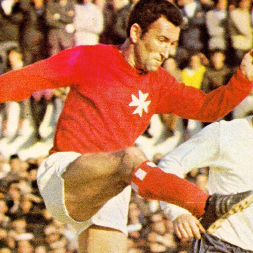 Malta 1971 Maglia Storica Calcio