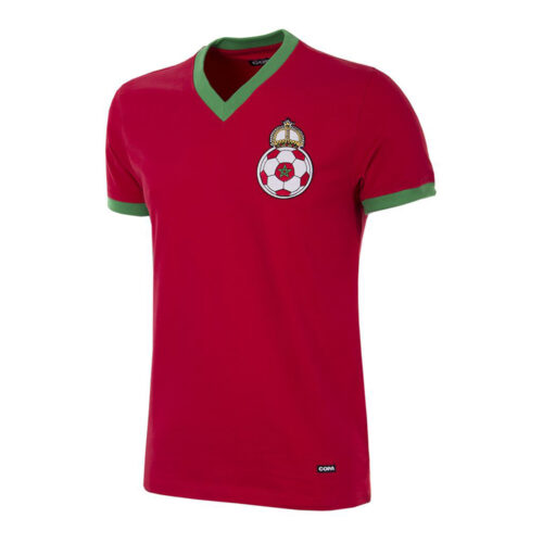 Morocco 1970 Retro Football Shirt