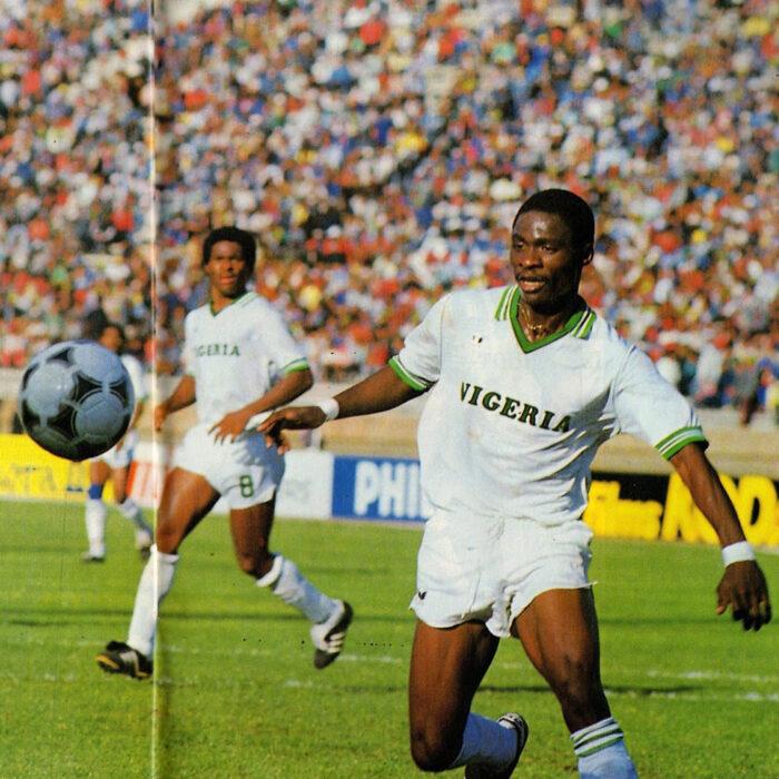 Nigeria 1988 Away Maglia Storica Calcio