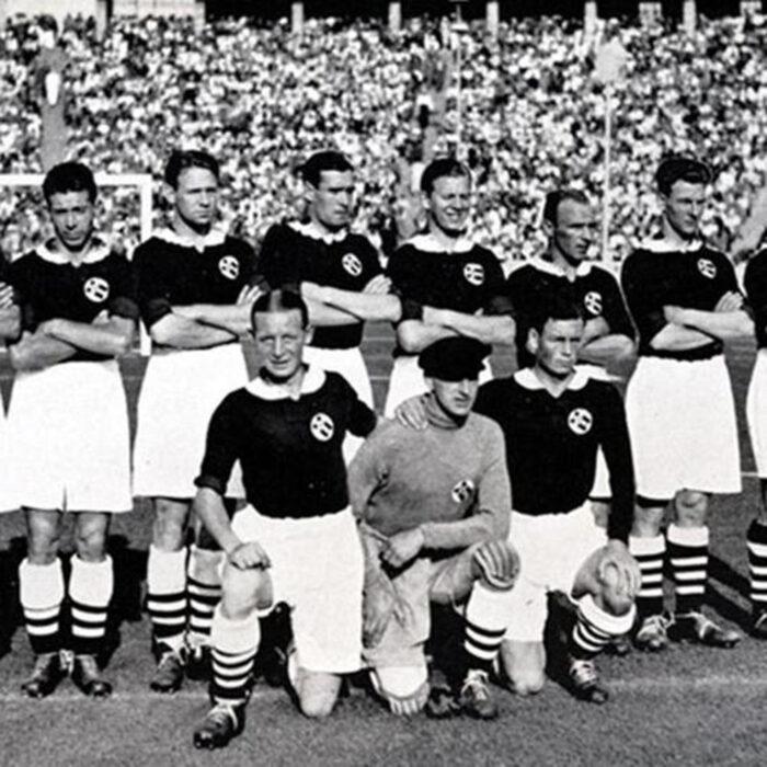 Norvegia 1936 Maglia Storica Calcio