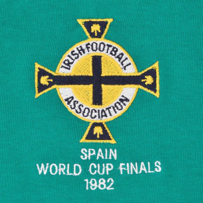 Irlanda del Nord 1982 Maglia Storica Calcio