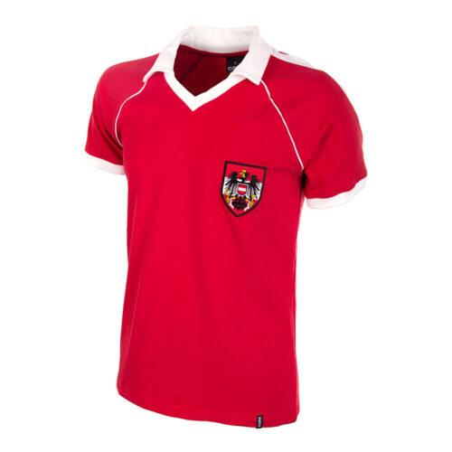 Austria 1982 Camiseta Retro Fútbol