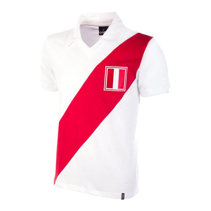 Peru 1970 Retro Football Shirt