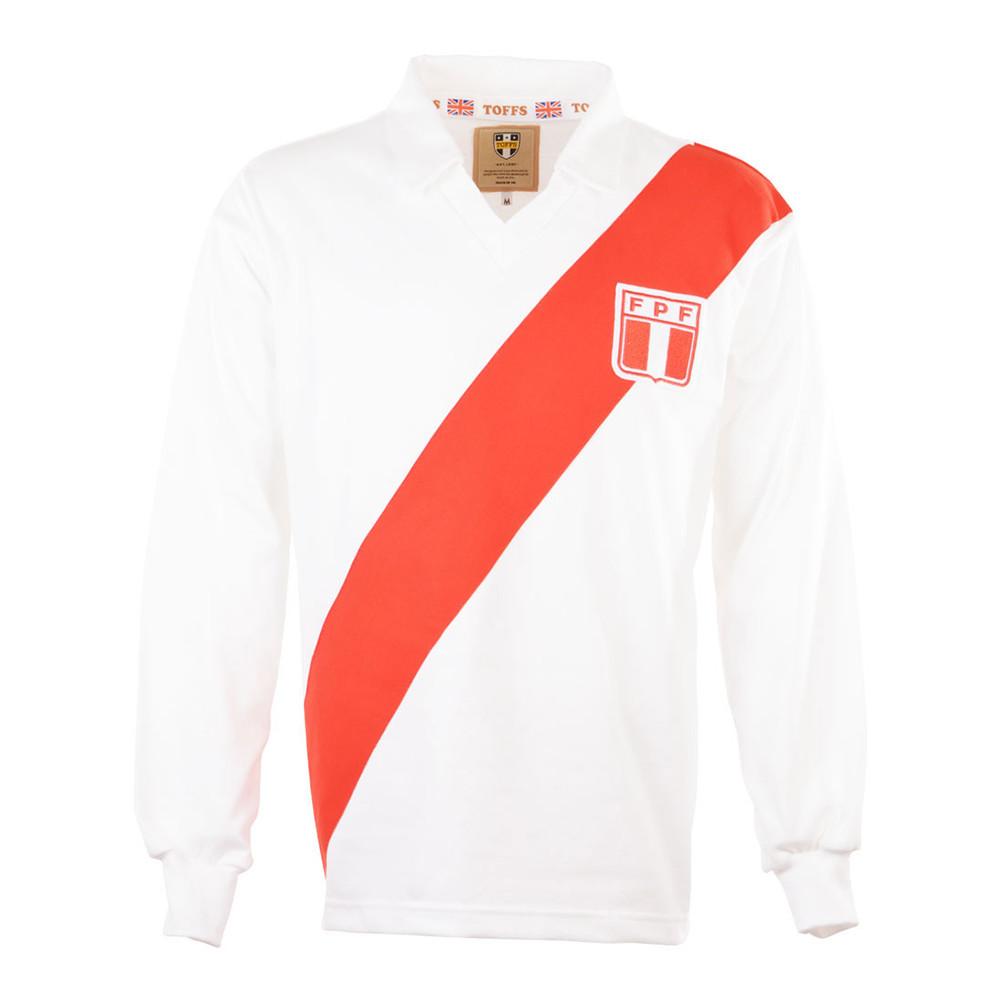 Perú 1978 Camiseta Retro Fútbol