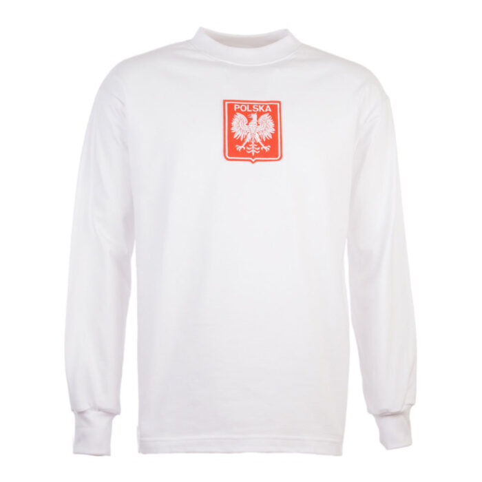 Polonia 1973 Camiseta Retro Fútbol