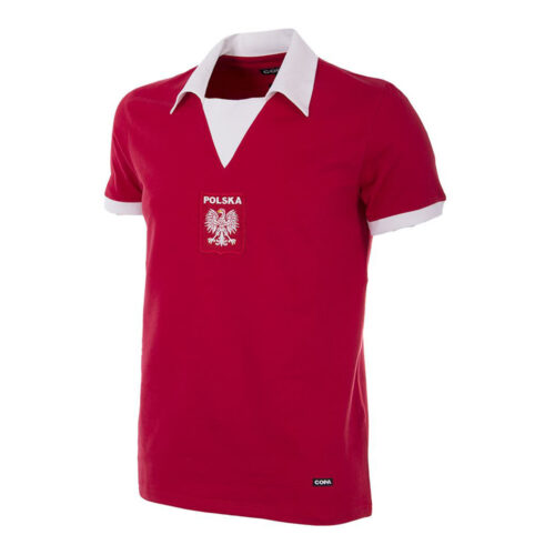 Pologne 1973 Maillot Vintage Foot