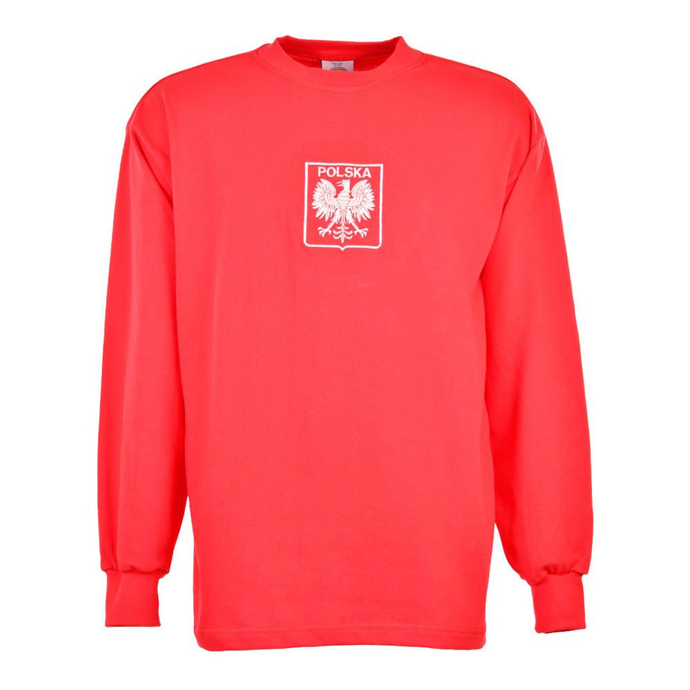 Polonia 1973 Maglia Calcio Storica