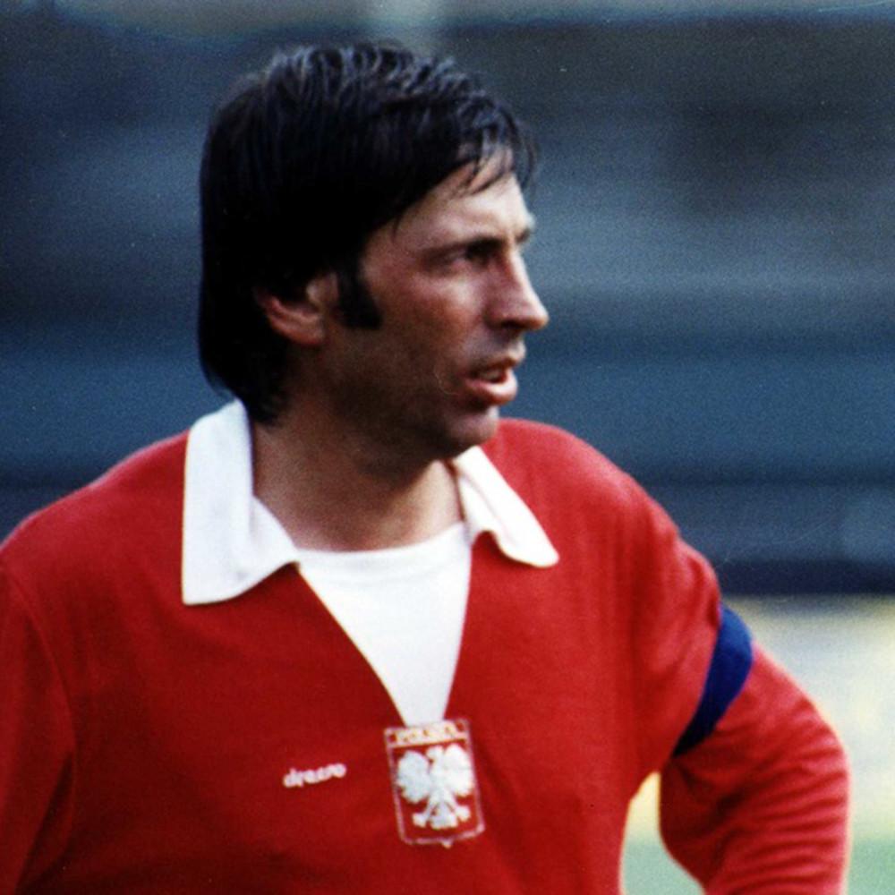 Polonia 1973 Away Maglia Calcio Storica