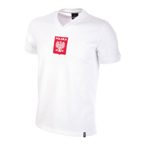Pologne 1976 Maillot Rétro Foot