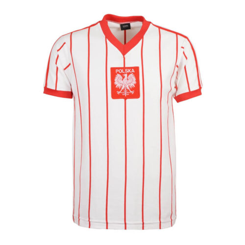 Poland 1982 Retro Football Shirt
