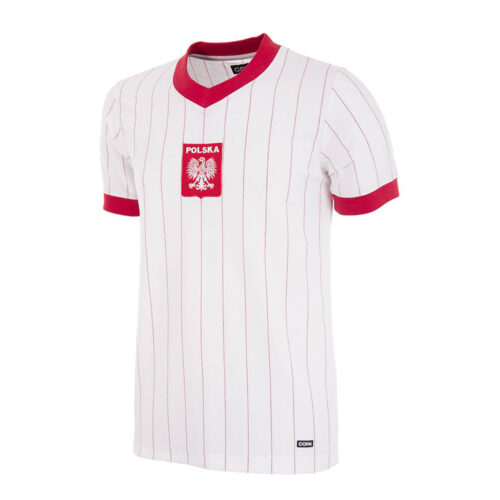 Pologne 1982 Maillot Rétro Foot