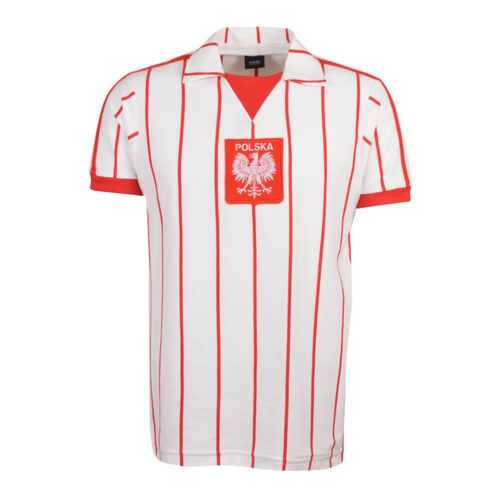 Pologne 1984 Maillot Rétro Foot