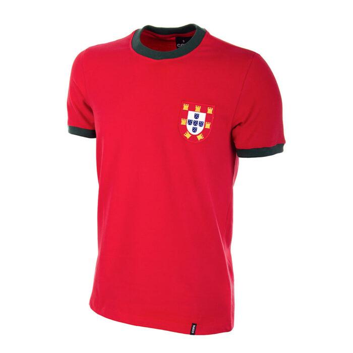 Portugal 1966 Retro Football Shirt