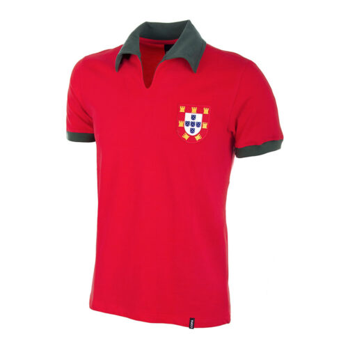 Portugal 1972 Camiseta Retro Fútbol