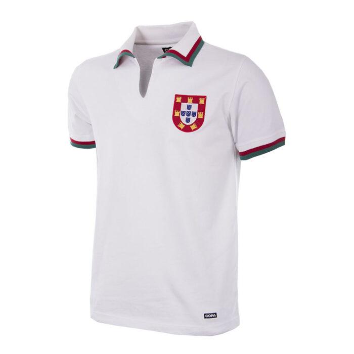 Portugal 1972 Camiseta Fútbol Retro