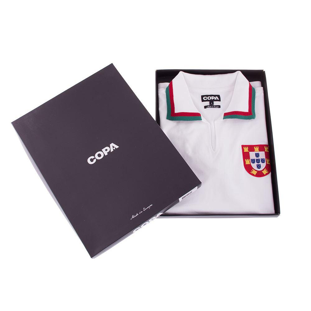 Portogallo 1972 Away Maglia Storica Calcio