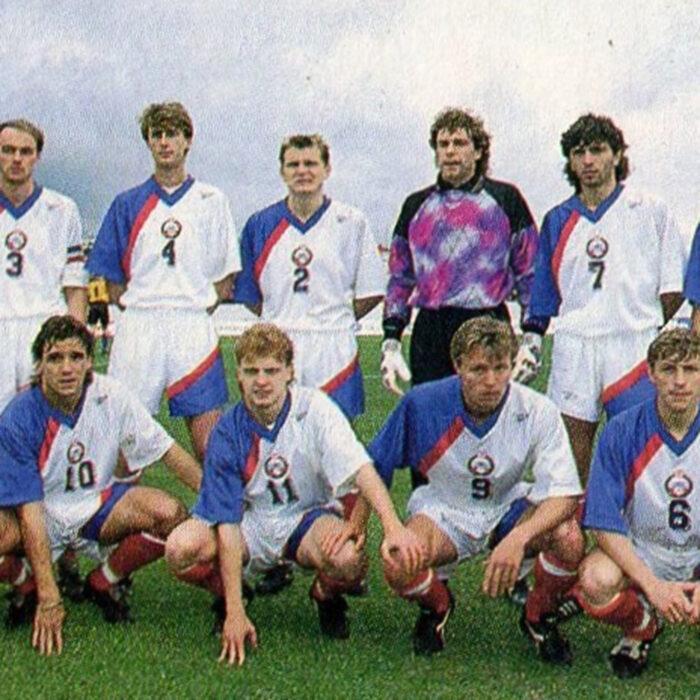 Russia 1993 Maglia Storica Calcio