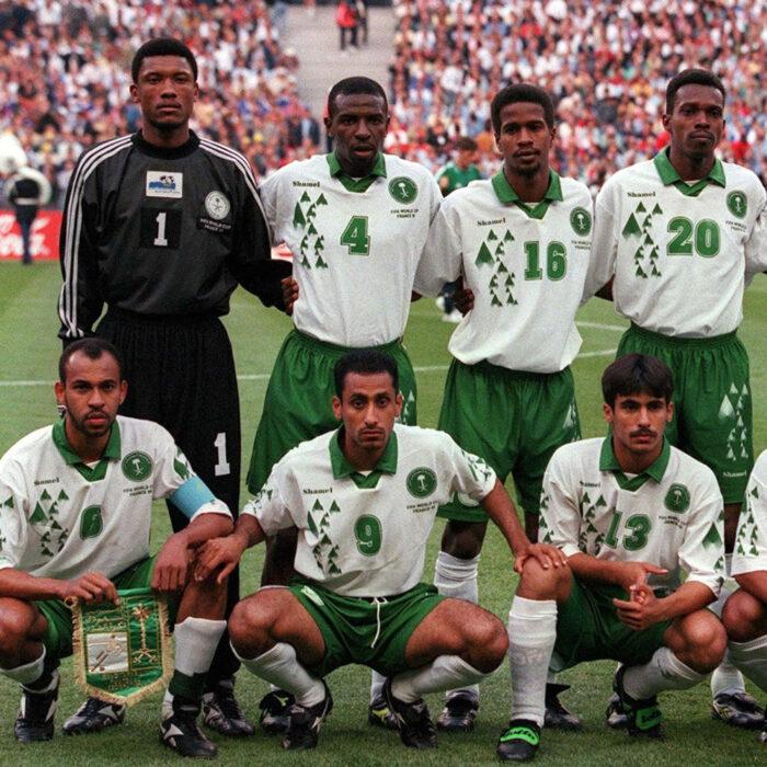 Arabia Saudita 1998 Maglia Storica Calcio