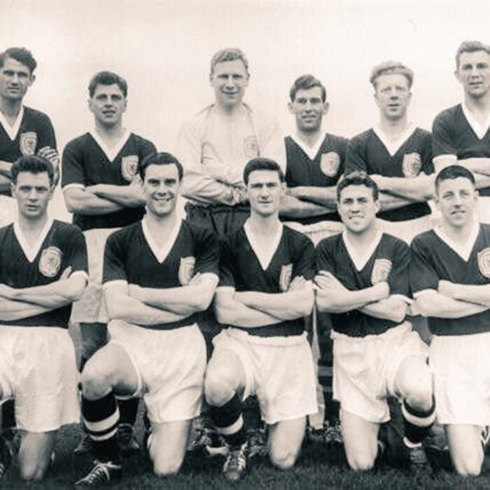 Scozia 1958 Maglia Storica Calcio