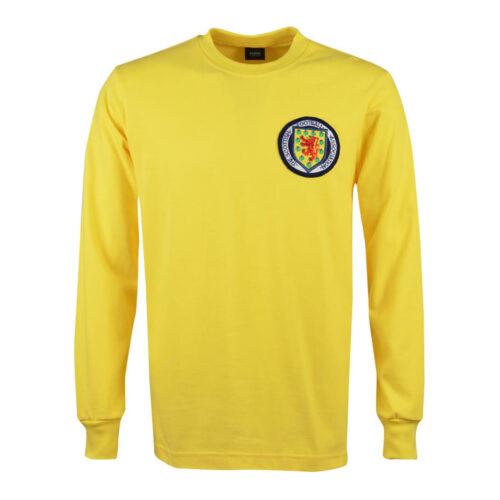 Escocia 1967 Camiseta Retro Portero