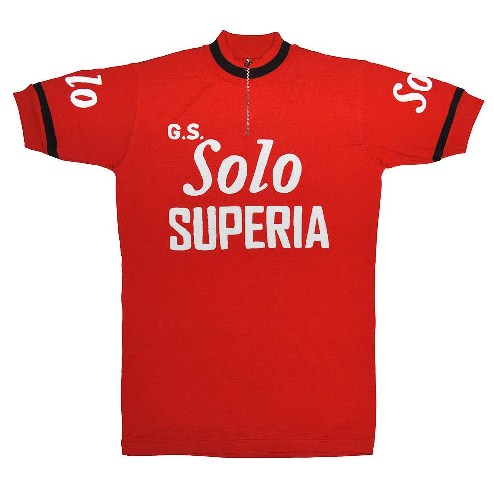 Solo Superia 1965 Maillot Retro Ciclismo