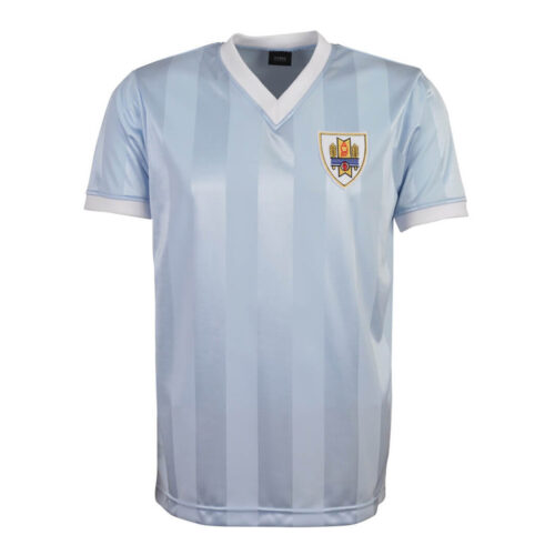 Uruguay 1986 Retro Football Shirt