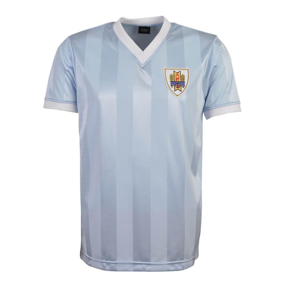 Uruguay 1986 Maillot Rétro Foot