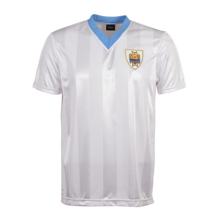 Uruguay 1986 Camiseta Fútbol Retro
