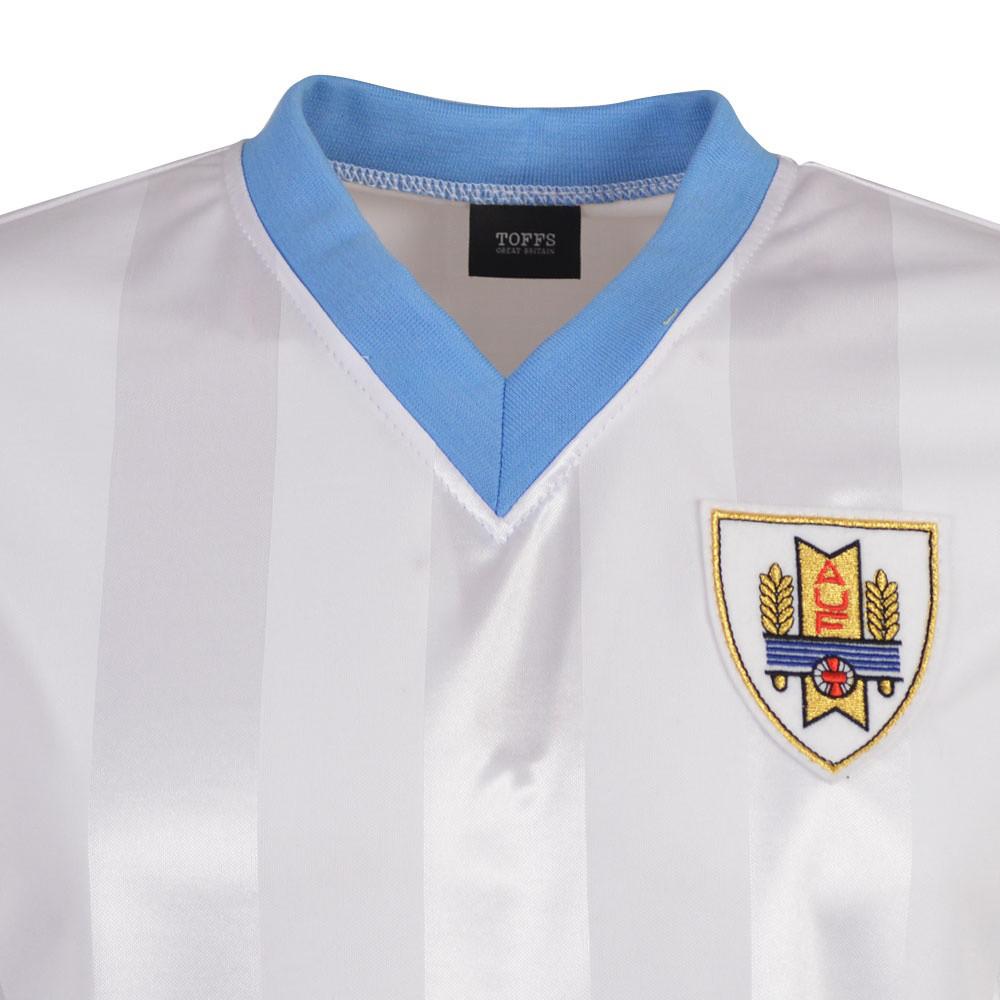 Uruguay 1986 Away Maglia Storica Calcio