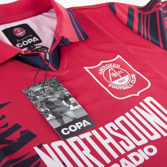 Aberdeen 1995-96 Maglia Storica Calcio