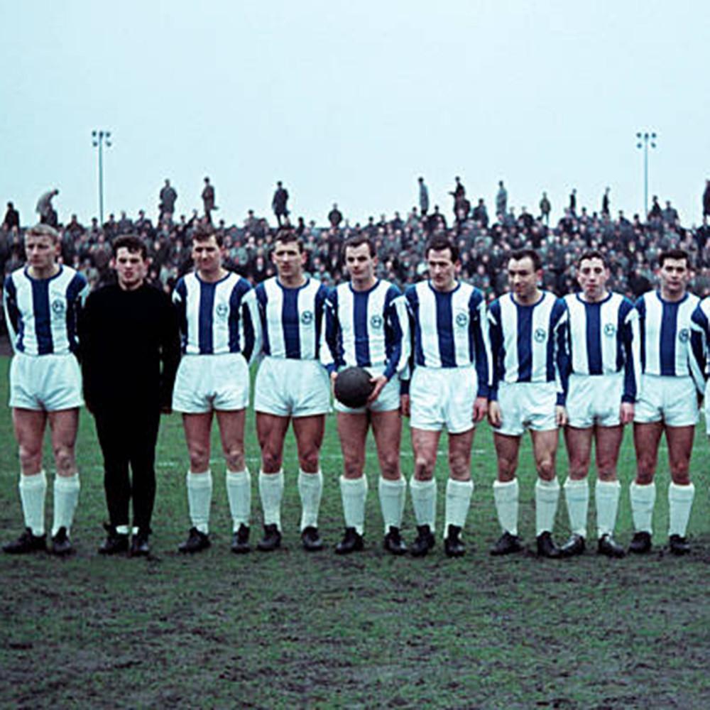 Arminia Bielefeld 1966-67 Maglia Storica Calcio