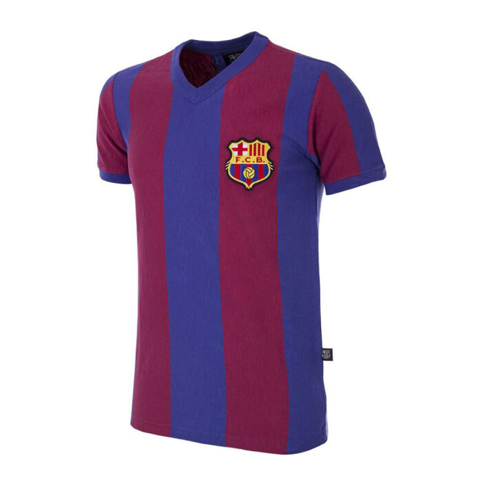 Barcelone 1955-56 Maillot Rétro Foot