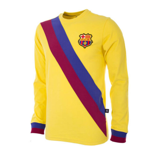 Barcelone 1974-75 Maillot Rétro Foot