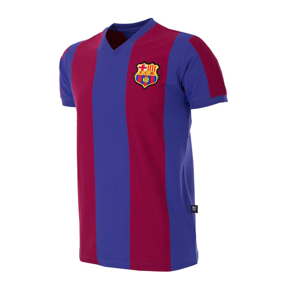 Barcelona 1976-77 Retro Football Shirt