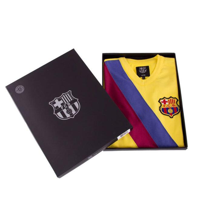 Barcellona 1978-79 Away Maglia Storica Calcio