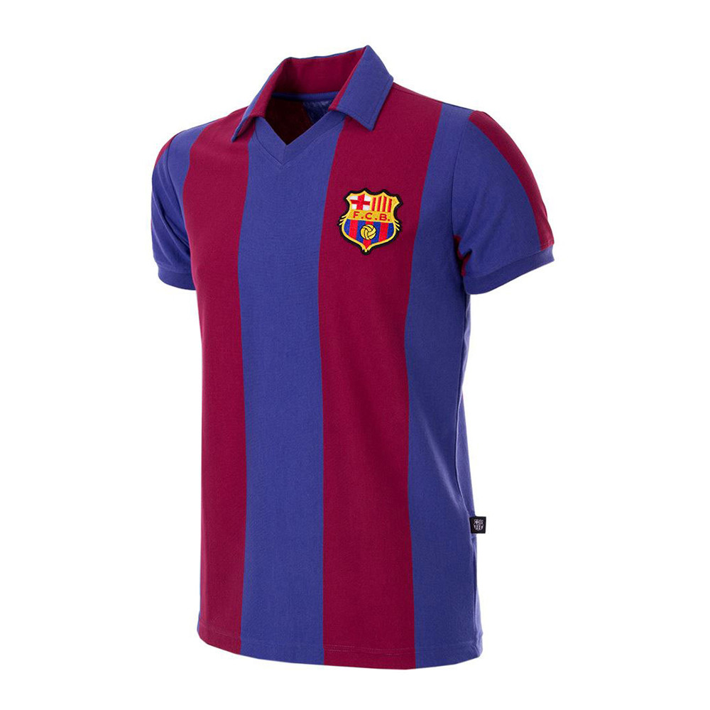 Barcelona 1980-81 Retro Football Shirt