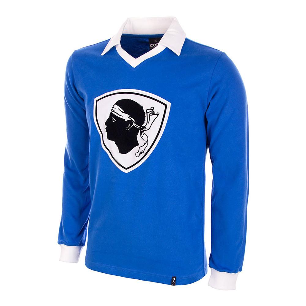 Bastia 1977-78 Camiseta Retro Fútbol