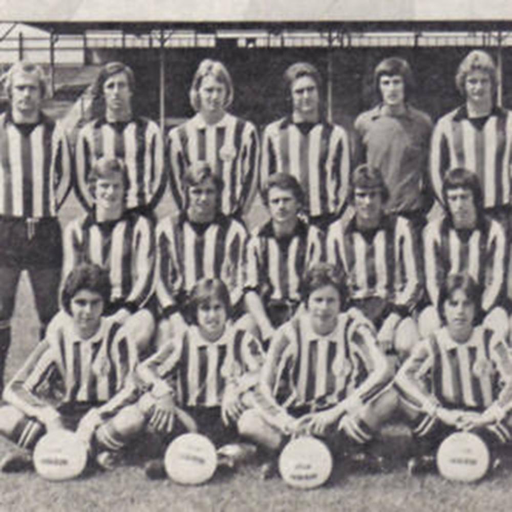 Brentford City 1974-75 Maglia Storica Calcio