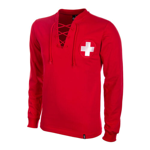 Switzerland 1938 Retro Football Shirt