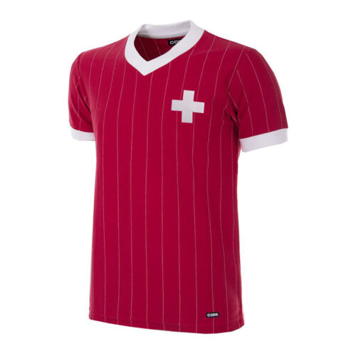 Switzerland 1982 Retro Football Shirt