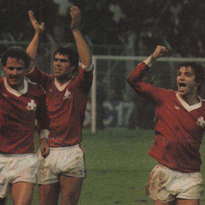 Svizzera 1982 Maglia Storica Calcio