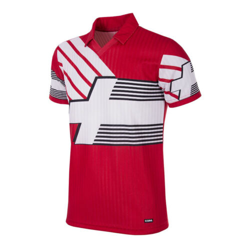 Switzerland 1991 Retro Football Shirt