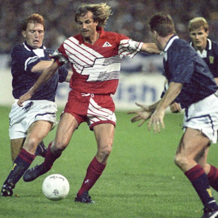 Svizzera 1991 Maglia Storica Calcio