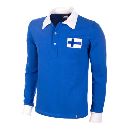 Finland 1953 Retro Football Shirt