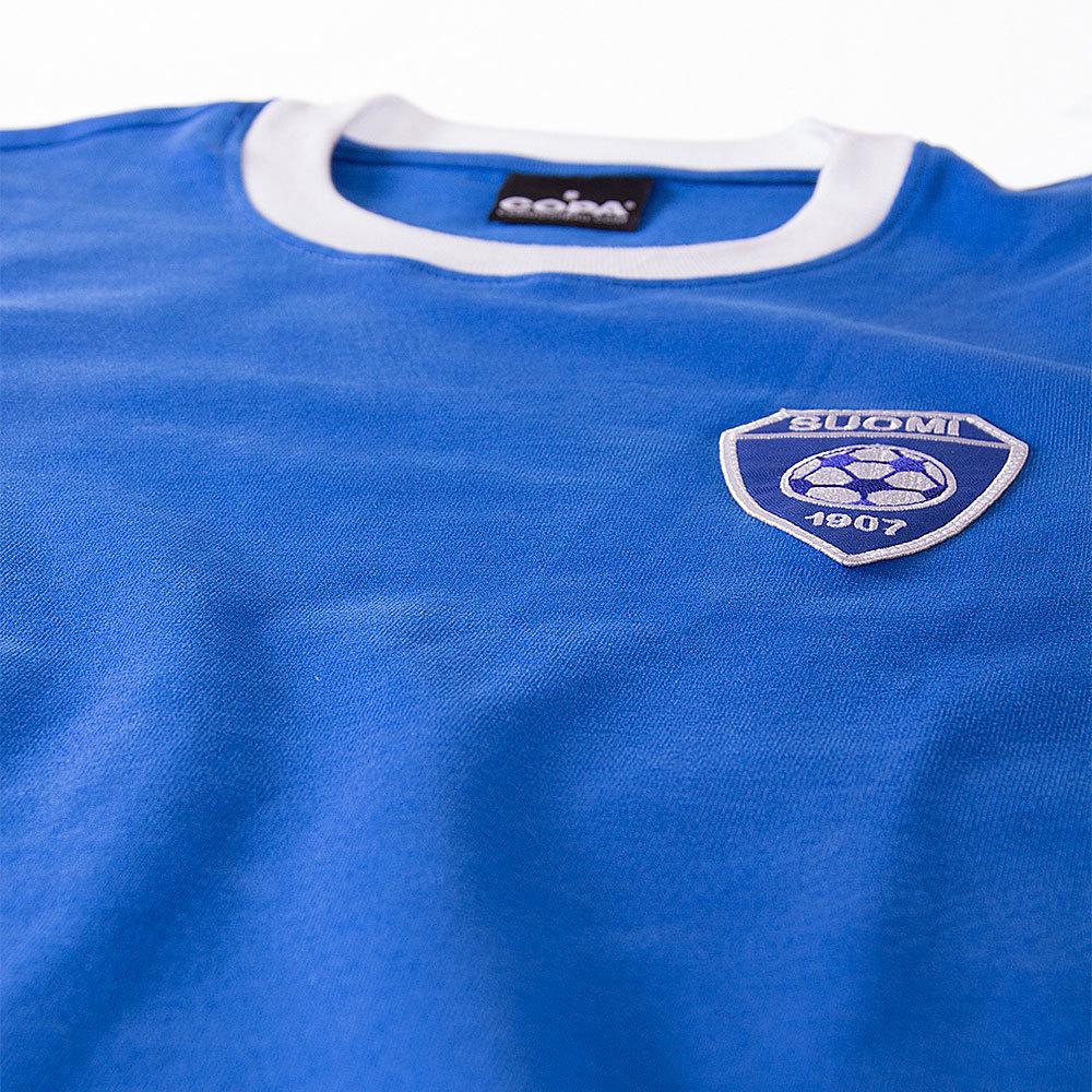 Finlandia 1977 Away Maglia Storica Calcio