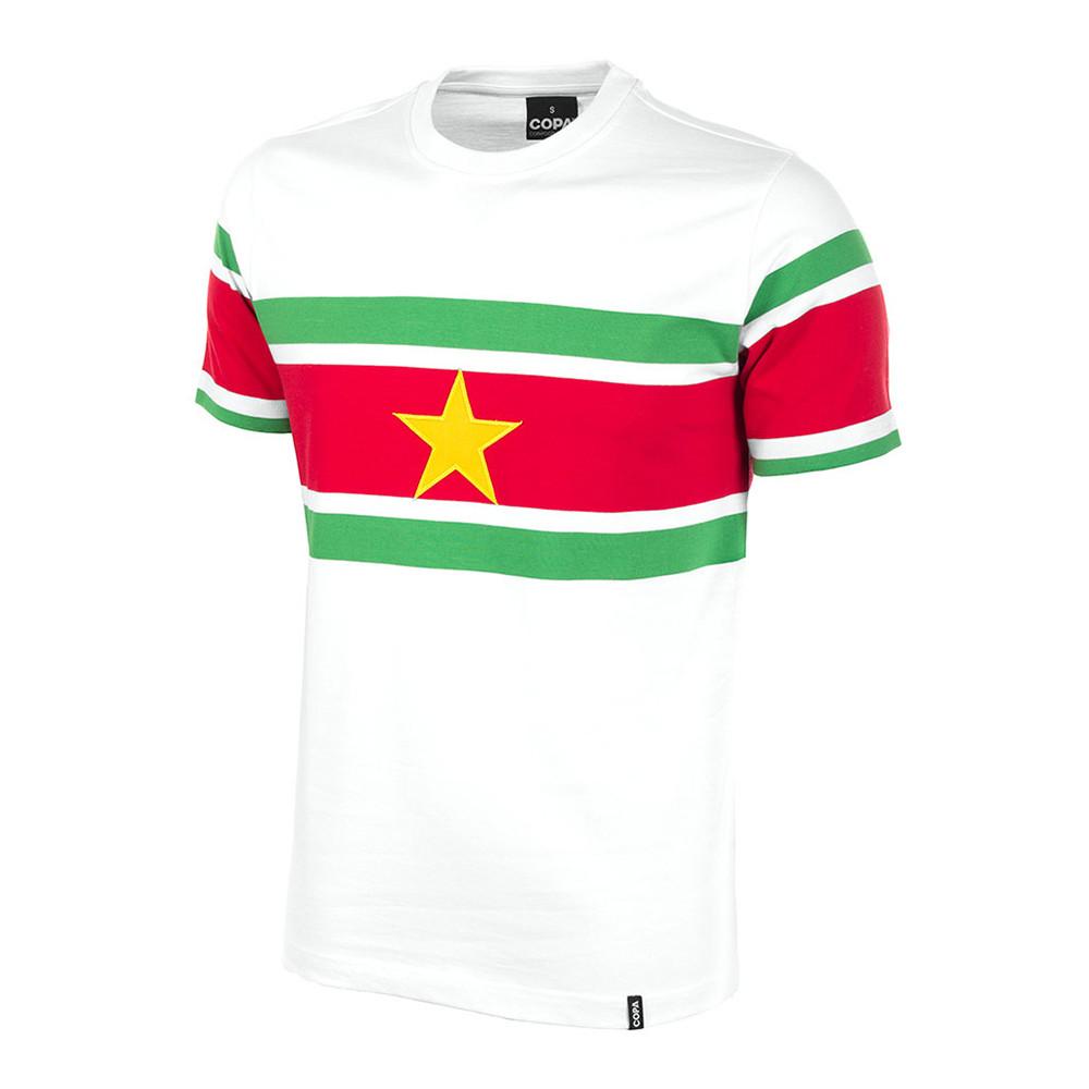 Surinam 1977 Camiseta Retro Fútbol